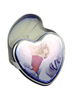 Candle Edible Massage Heart Vanilla 4oz